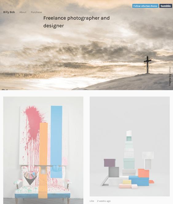 other two masonry tumblr themes