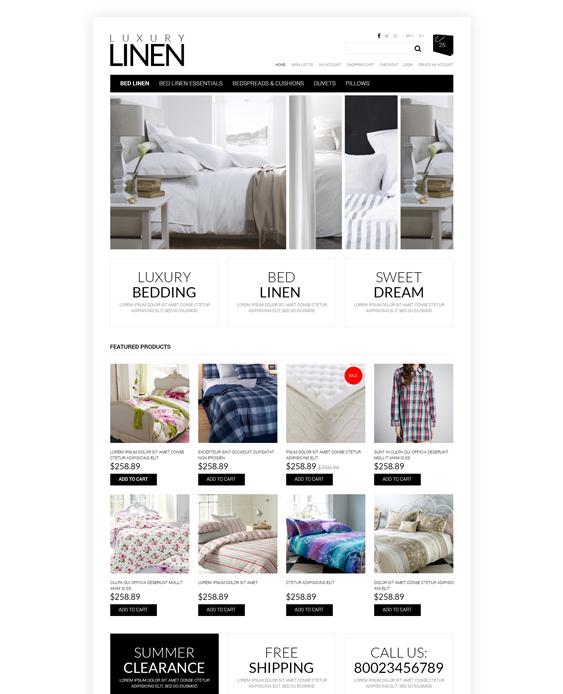 furniture soft home decor interior design opencart themes