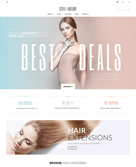 style cosmetics beauty products shopify themes