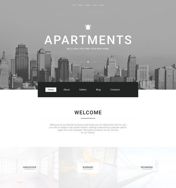 real estate wordpress themes agency