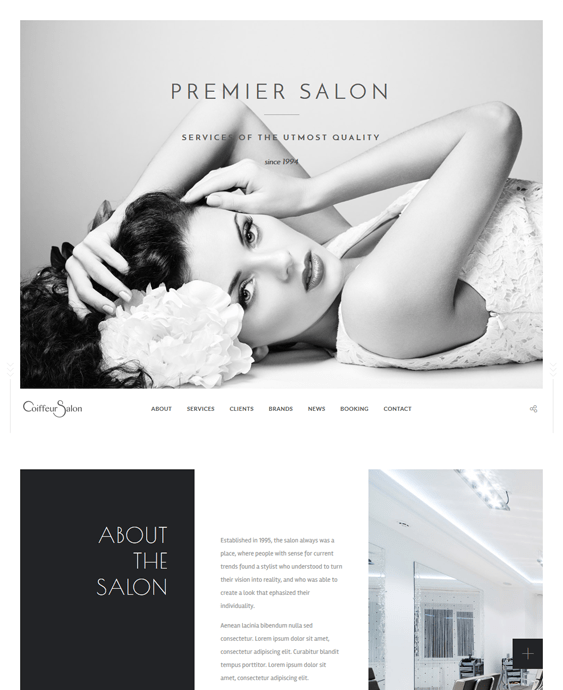 salon spa wordpress themes