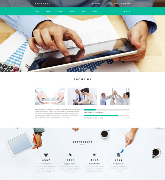 business drupal themes agency