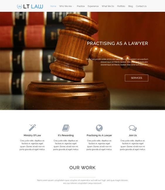 lt law lawyer attorney wordpress themes