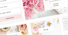more best feminine wordpress themes feature