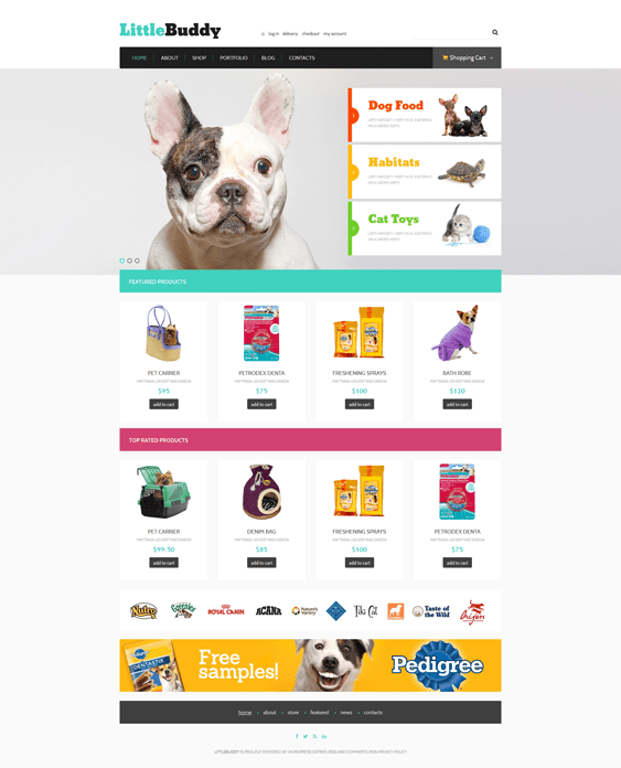 little pet woocommerce themes