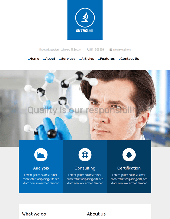microlab medical wordpress themes
