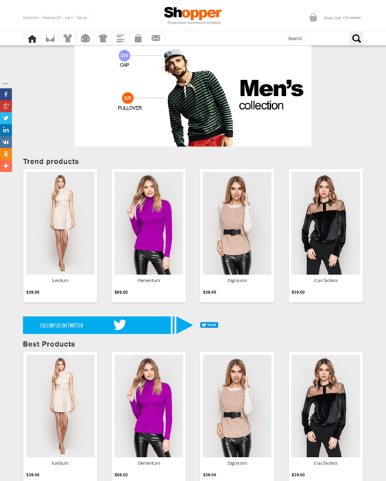 shopper virtuemart joomla templates