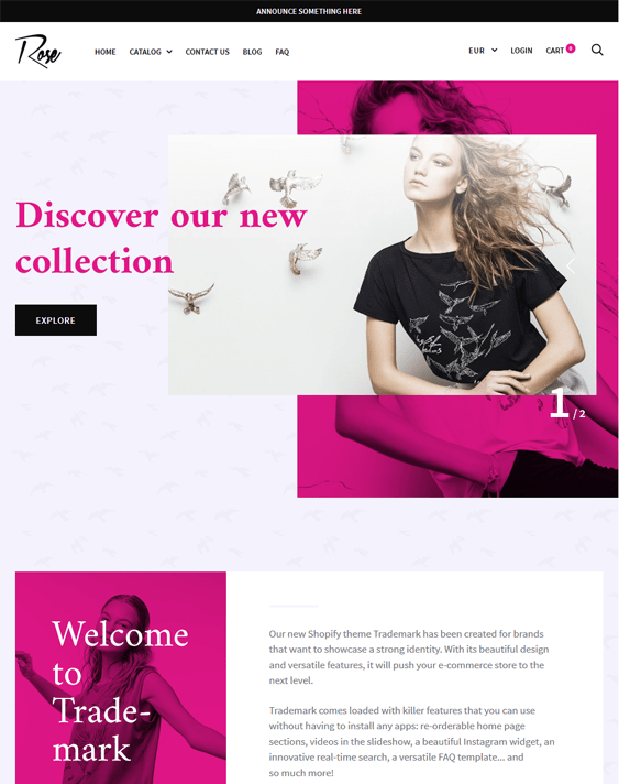 trademark rose responsive shopify themes 2017