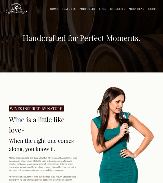 vinoterra wine wordpress themes