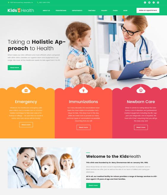 kidshealth-kids- pediatricians pediatric clinics wordpress themes_63374-original