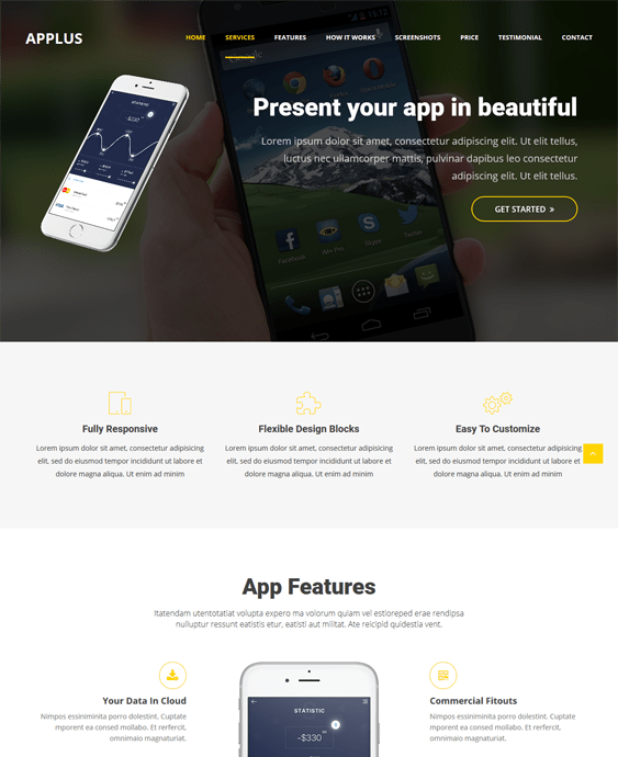 applus themes promoting apps