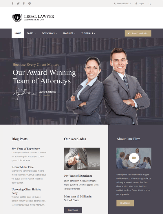legal law firm lawyers attorneys joomla templates