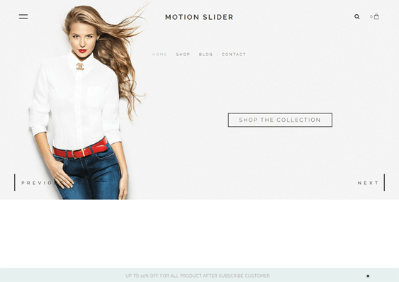 motionslider fashion shopify themes clothing stores