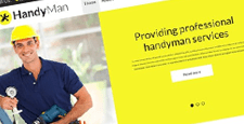 best handyman joomla templates feature