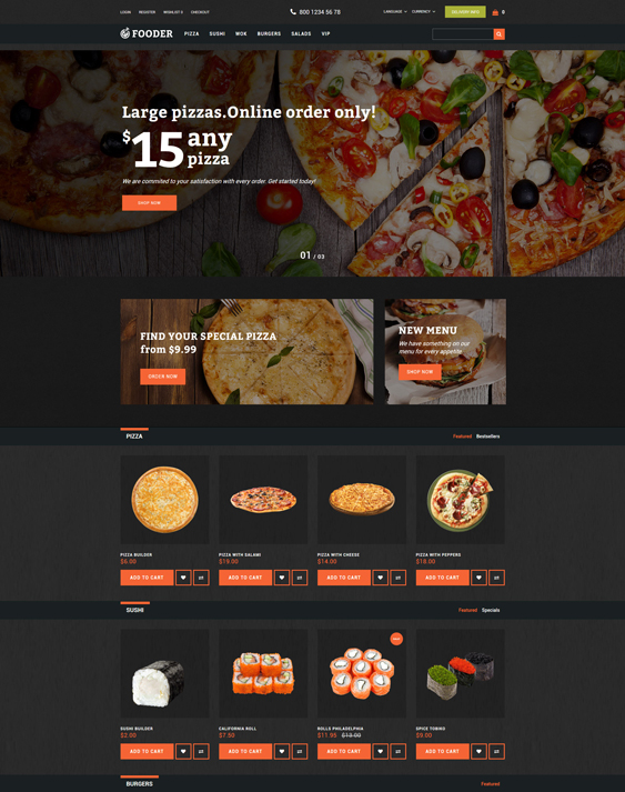 fooder-pizza- food drink restaurant opencart themes-with-online-ordering-system-template_62294-original