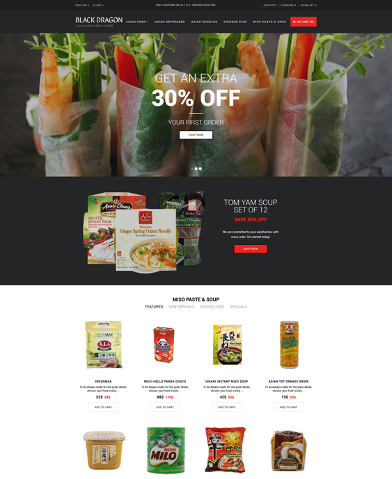 grocery-store-responsive- food drink restaurant opencart themes_63347-original