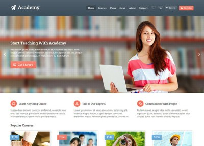 55+ Best Education WordPress themes for Training centers ...