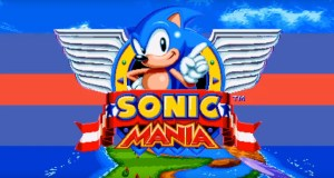 Sonic Mania Title