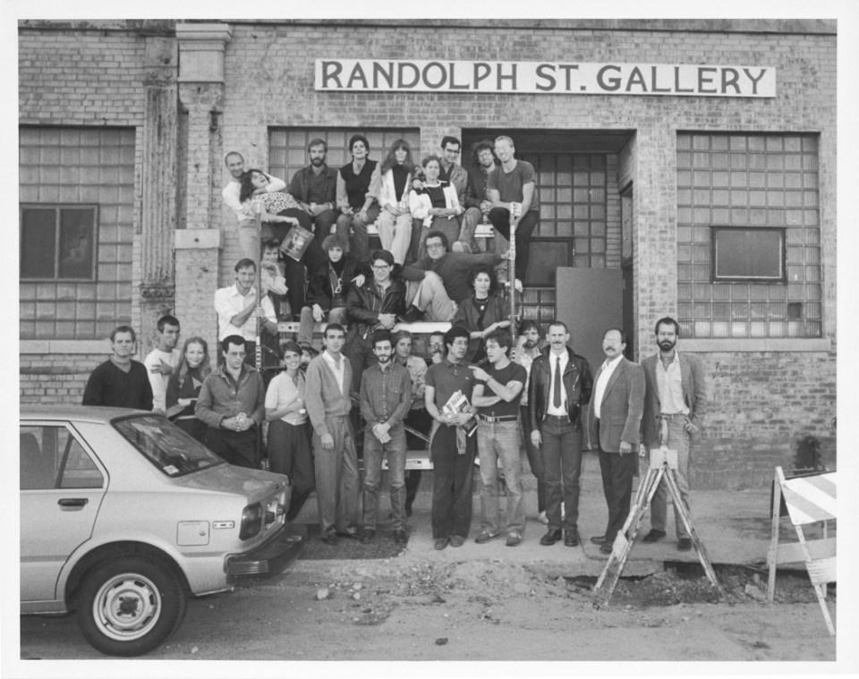 Satinsky 02--Randolph St Gallery