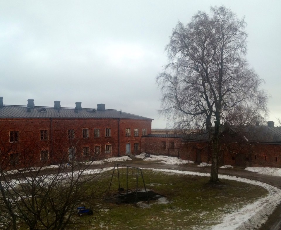 Suomenlinna Island from the windows of my flat, Helsinki, Finland