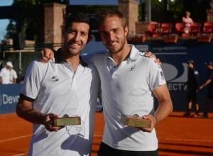 Andrej Martin (Esl) y Hans Podlipnik (Chi), campeones en dobles del Uruguay open