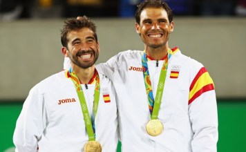 Medalla de oro en dobles