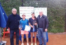 Thaisa Grana Pedretti campeona en dobles y singles y Fernanda labraña finalista en singles y campeona en dobles