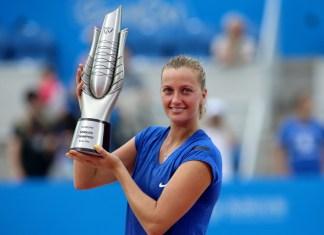 Kvitova levanta el trofeo de Wuhan