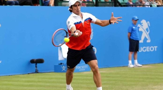 Pablo Cuevas superó al eslovaco Jozef Kovalik y se colocó en los cuartos de final del torneo de Amberes