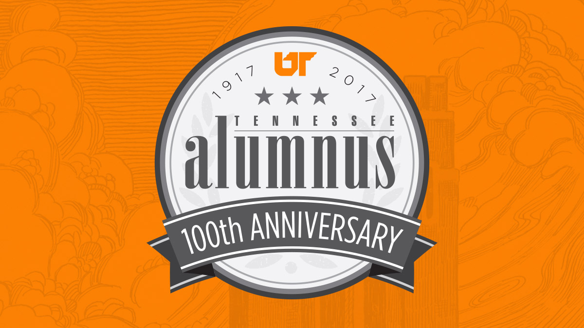 Tennessee Alumnus 100th Anniversary mark