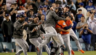 Astros Beat Dodgers to Win World Series in 7 Games, First ...