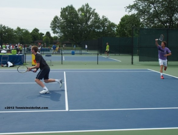 Western and Southern Open Cincinnati Jonathan Marray Frederik Nielsen doubles practice images photos pictures