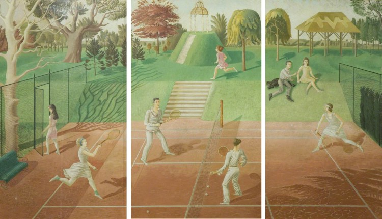 Gallery: Tennis in British art