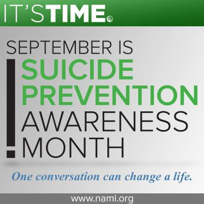 NAMI is the National Alliance on Mental Illness.