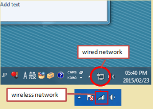 internet icon on windows