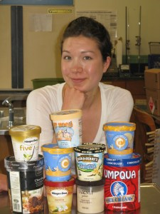 Rachel Miller will head for Poligny, France, this summer to test ice cream recipes. Photo: Lee Sherman