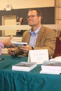 Terry Healey at Book Signing Event
