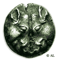 Optical Illusion - Coin found on Lesbos