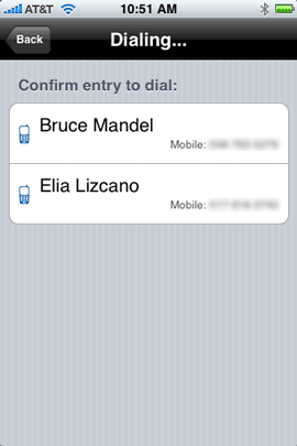 "Here I said ""Bruce Mandel mobile"""