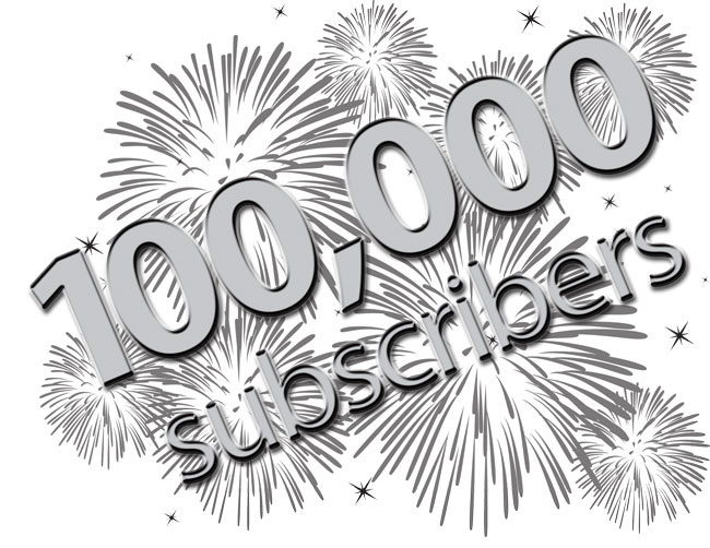 100000subscribers