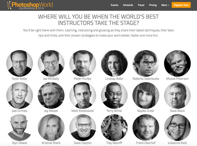 Photoshop World Instructors