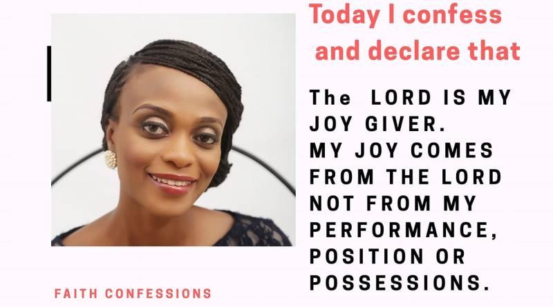 joy confess