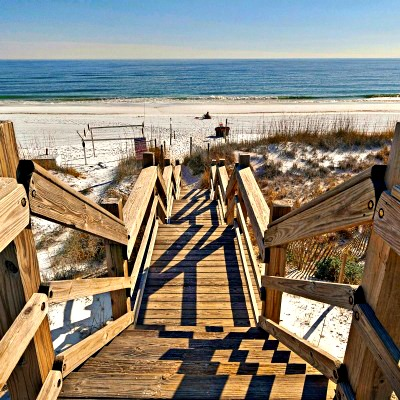 Crystal Beach Destin rental home beach access