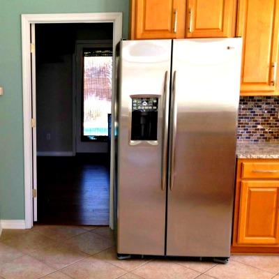 Crystal Beach Destin rental home kitchen