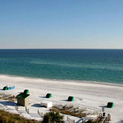 Sterling Sands Destin rental condo beach view