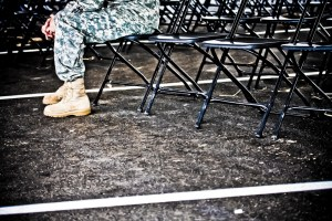 Tif Holmes / Empty Chairs / The Journal of Military Experience, Vol. 2