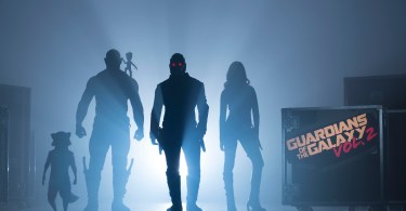 Guardians Of The Galaxy Vol. 2..Start of Production Image..L to R: Rocket (voiced by Bradley Cooper), Drax (Dave Bautista), Groot (voiced by Vin Diesel), Peter Quill/Star-Lord (Chris Pratt) and Gamora (Zoe Saldana)..©Marvel 2017
