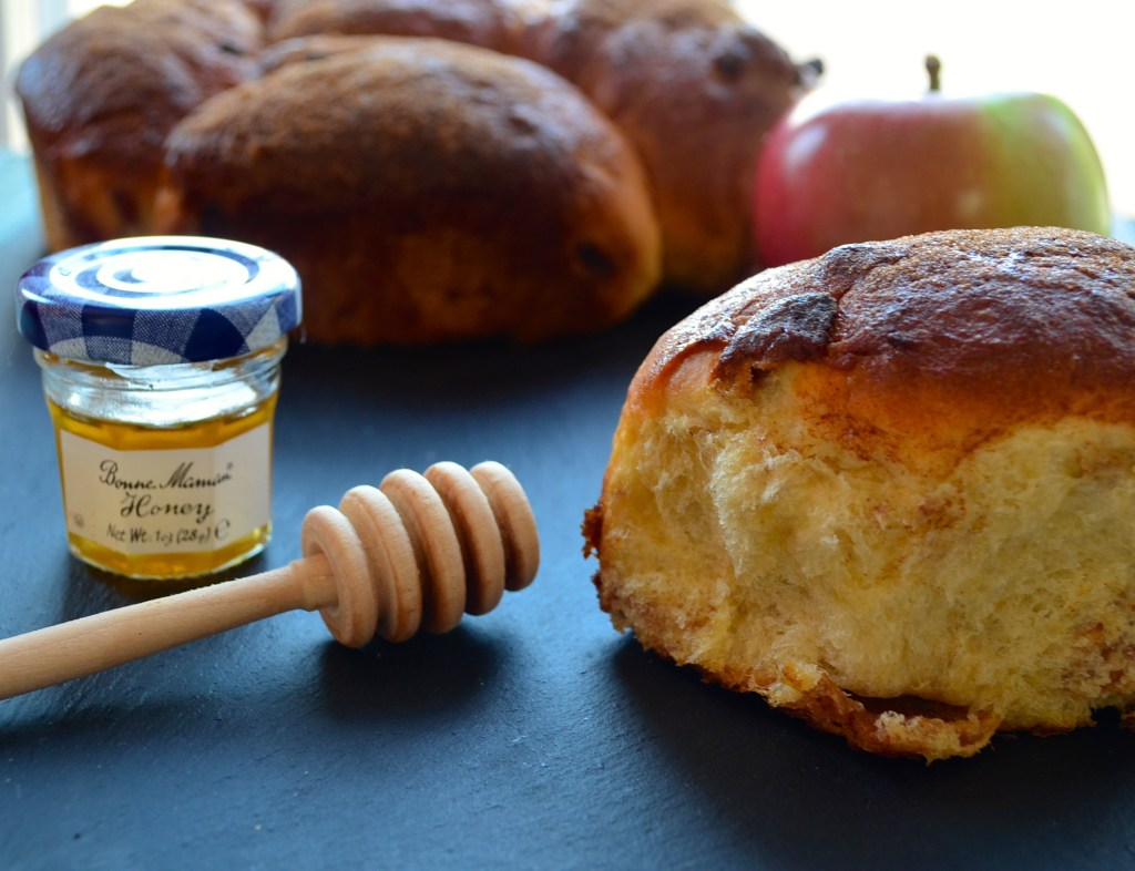 """Apples and Honey"" Challah for Rosh Hashanah - So good, your guests won't leave before asking you: May I Have That Recipe?"