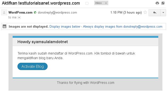 cara membuat blog di wordpress gambar 7