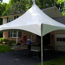 20x20 Hi-Peak Tent Rental South Jersey